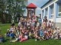 Návštěva u kamarádů v MŠ ve Vlašimi 23.5.2017